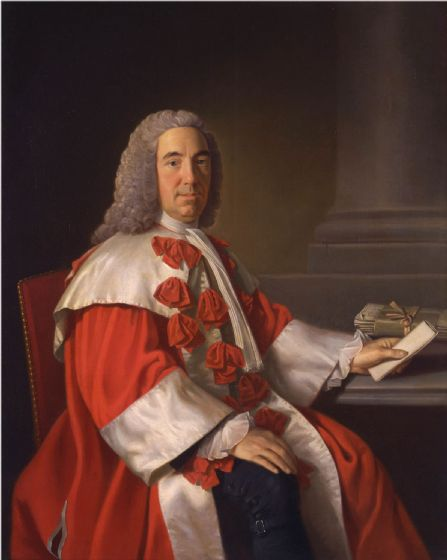 Ramsay, Allan: Alexander Boswell, Lord Auchinleck . Fine Art Print/Poster (4798)